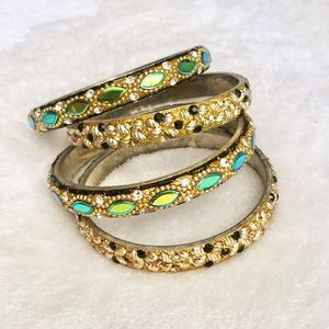 Anthropologie Bangle Set